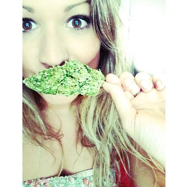 ♡☮ [@britaniparker] Featured Model on TheMarijuanaModels.com @weedstache