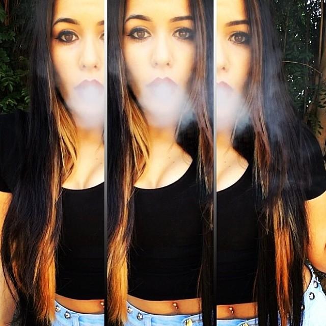 ♡☮ [@nessaxrenee] Featured Model on TheMarijuanaModels.com