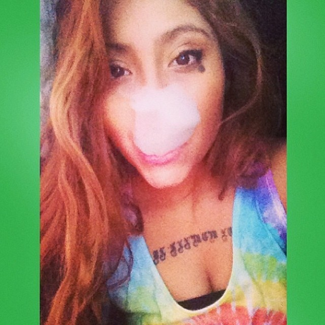 ♡☮ [@o__fy ] Featured Model on TheMarijuanaModels.com