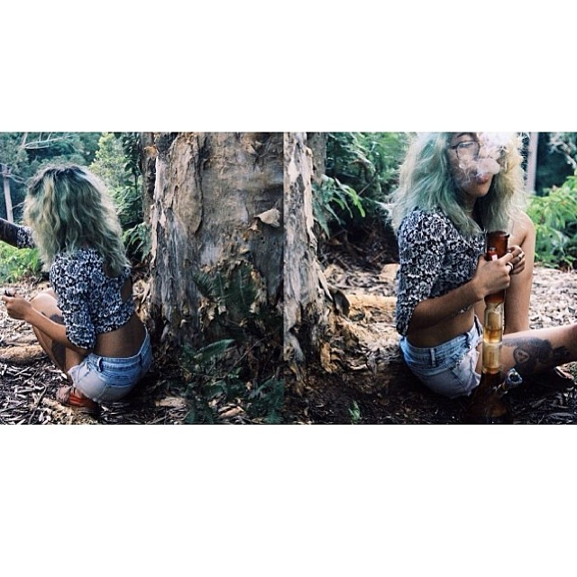 ♡☮ [@taymeooooow] Featured Model on TheMarijuanaModels.com