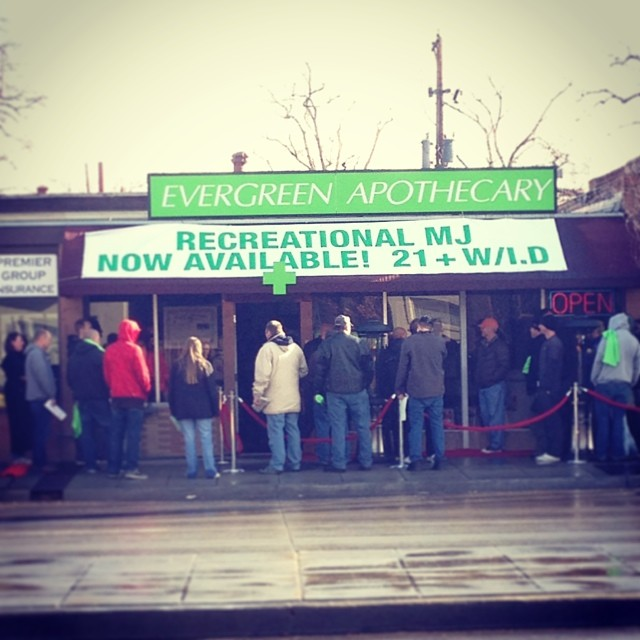 The day Marijuana became legal.