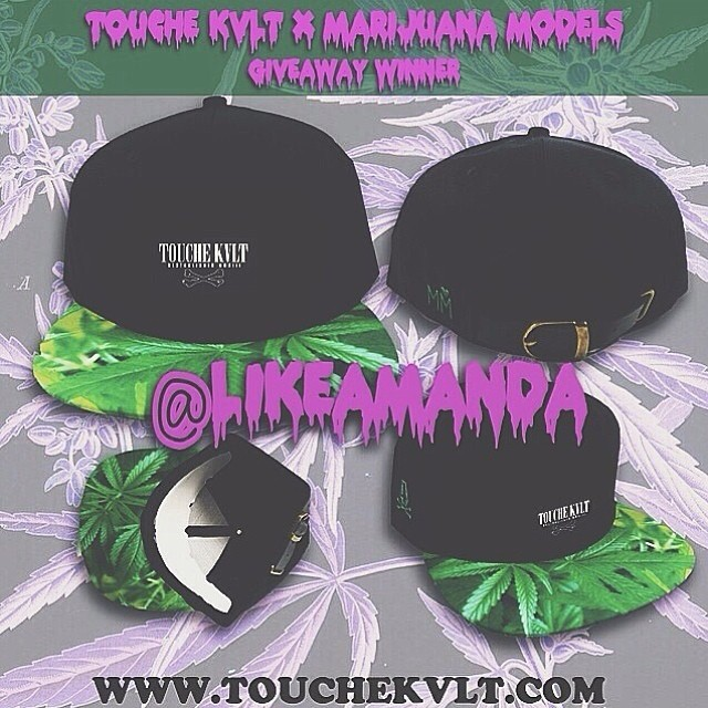 "@TOUCHEKVLT @MARIJUANAMODELS  GIVEAWAY WINNER IS @likeamanda  EMAIL PHILGORGEOUS@GMAIL.COM TO CLAIM YOUR PRIZE  TO SAY THANK YOU TO EVERYONE FOR HELPING OUT AND REPOSTING WITH US, WERE OFFERING A 20% OFF CODE GOOD OFF YOUR ENTIRE ORDER AT WWW.TOUCHEKVLT.COM USE CODE ""INSTAKVLT"" coupon expires 3/18"