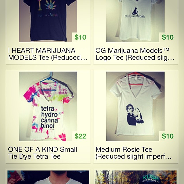 ALMOST GONE $.!!!!  TheMarijuanaModels.com/Etsy  Link in bio