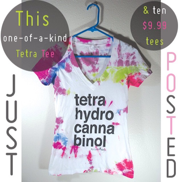 Only a few $9.99 tees left!  TheMarijuanaModels.com/etsy