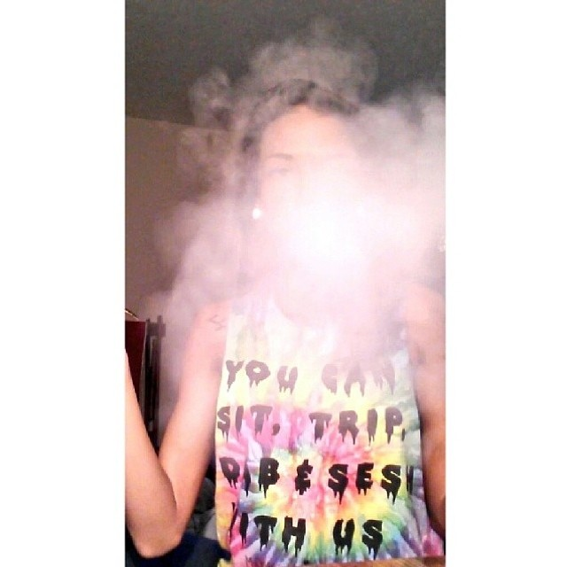 LOVE what Ft Model @kfrav did with her YOU CAN tee New tie-dye colors coming soon!