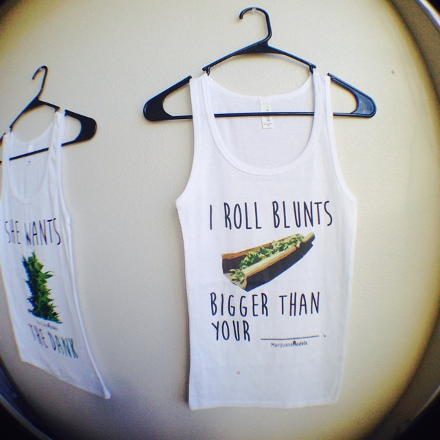 "Pre-order these tanks and crops for 10% off until TOMORROW NIGHT!!! Use ""irollblunts"" at checkout in our new shop! ⓁⒾⓃⓀ ⒾⓃ ⒷⒾⓄ️"
