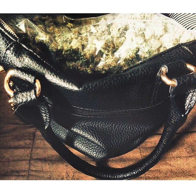 @jennycrooklyn A purse full of weed is all ya need
