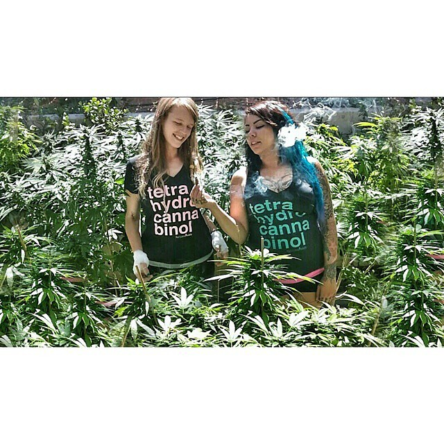LOVE this! @bu88z & @laurynpwns_ tending to the ladies in their & Tetra tees!  On sale & available on our site!
