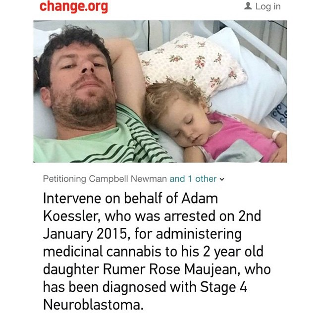 If everyone in just the Instagram cannabis community alone signed this there would be hundreds of thousands of signatures showing we support this man and his ill child and that we are not blind to the power of cannabis even though our governments try to keep it from us Go to @potheadsociety and click the link in their bio to sign!!!