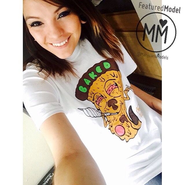 @aj_5280 got her BAKED tee!  Thanks for the love girl️ Baked tees and lots more available at the link in our bio!