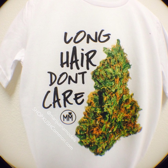 The true meaning of Long Hair Don't Care Tees available in our shop! & New designs coming in time for summer! link in bio!