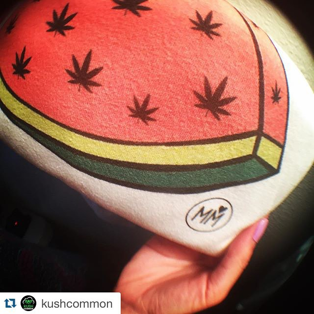 @kushcommon with @repostapp. ・・・ Weedmelon T-Shirt  We redesigned our entire shop!! Go check it out, and use coupon code summerdaze for 10% off errrrthang. Weed love to see you wearing our cannaclothes! Don't forget to tag us when you get em, so @marijuanamodels and I can repost you!!!  Link in bio
