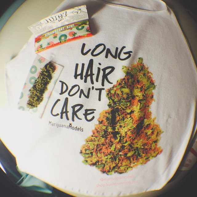 "LONG HAIR DON'T CARE🏼🏻🏾 ::::::::::::::::::::::::::✽ ❁ ✽:::::::::::::::::::::::::: Snag one from our shop as a tee, tank, OR now a crop!!! WWW.SHOP.KUSHCOMMON.COM ::::::::::::::::::::::::::✽ ❁ ✽:::::::::::::::::::::::::: Most orders shipping same day or next day!  Be sure to use ""SUMMERDAZE"" this week for 10% off you order! Thank you so much for the love and support Fam!"