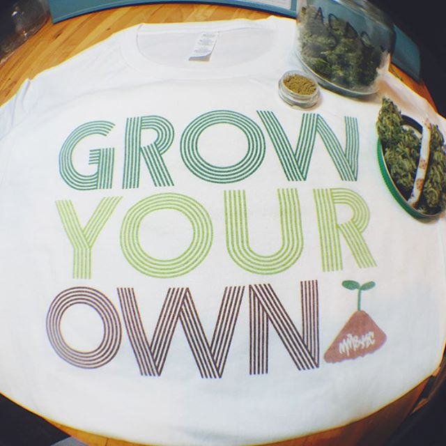 Who knows maybe it'll be illegal to grow our own food soon Available in many sizes and styles in our shop! Link in my bio️