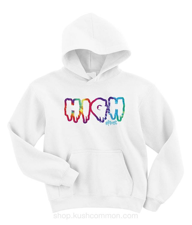 Just added these ️HIGH️ hoodies to the shop! Tie-dye ️HIGH️ also comes as a tee, tank, or crop😇 Check em out at the link in my bio!