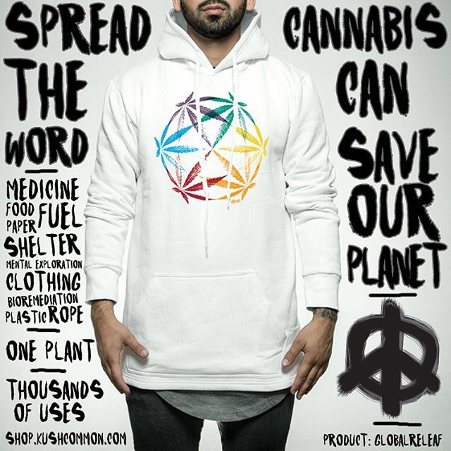 Dropped some new designs in the shop including this one, GlOBALRELEAF Check em out! www.shop.kushcommon.com