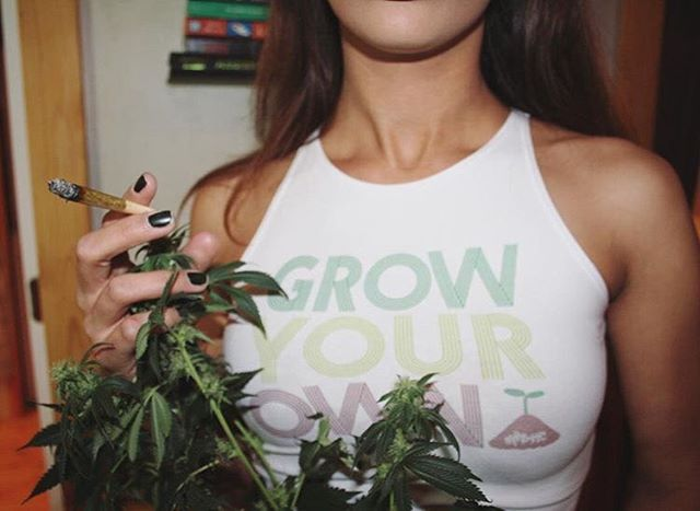 Grow Your Own Thank you @sativaball ️ Check out our last two posts to see the latest additions to the shop!!! Available in our shop in men's/unisex & women's sizes! Link in bio!